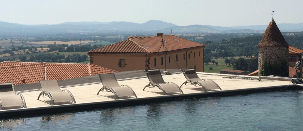 Hôtel avec piscine en Auvergne